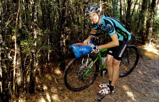 Oliver Whalley- First rider home on the inaugural Kiwi Brevet 2010